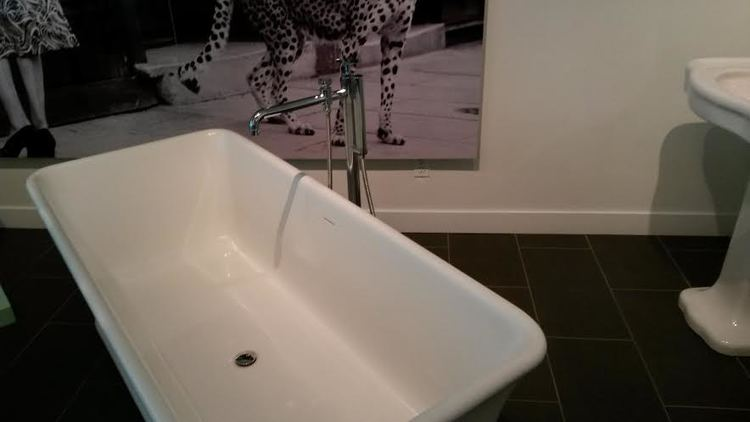 How much chocolate would this Lefroy Brooks bathtub hold?