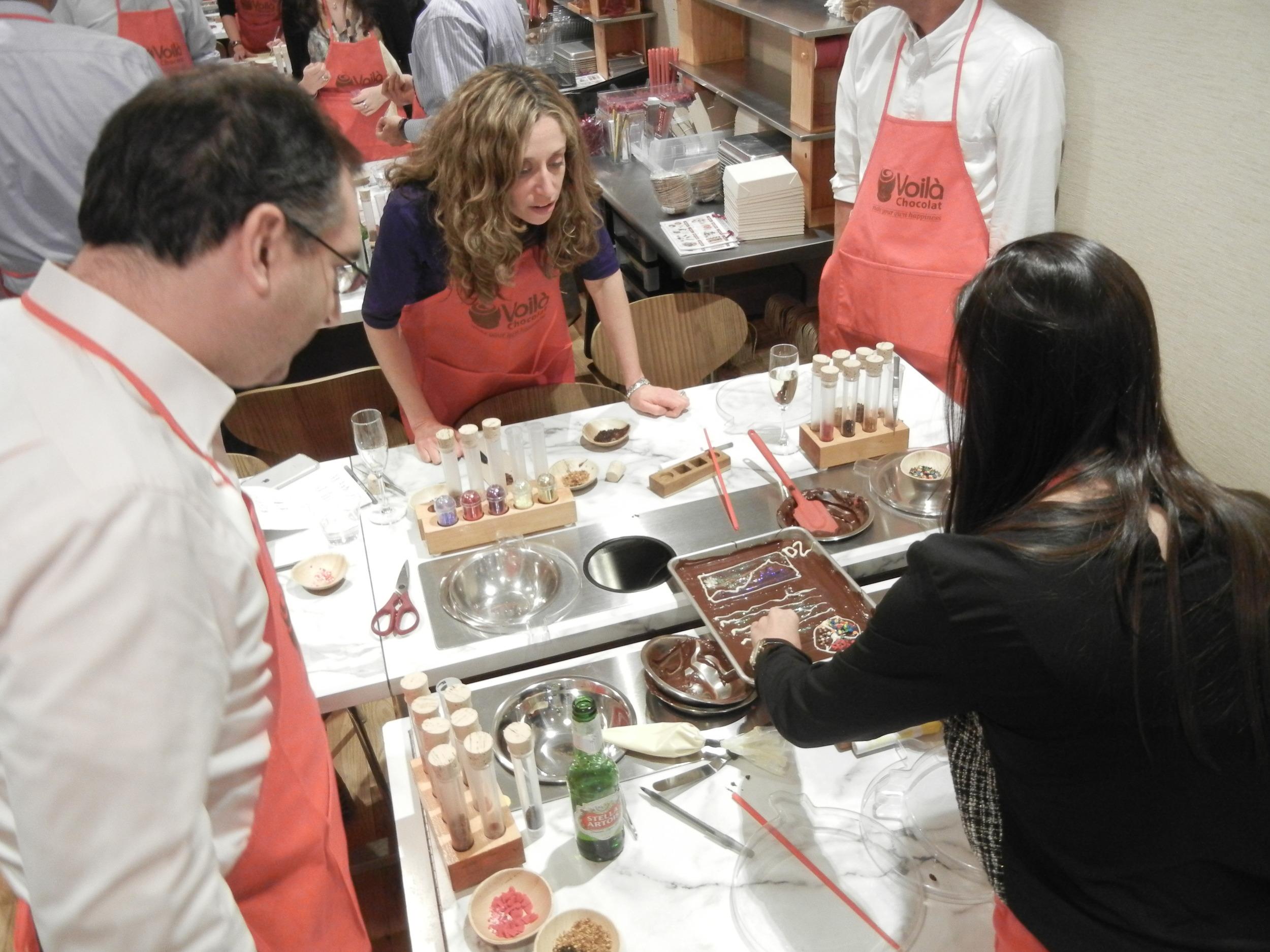 Sweet team building through chocolate challenges.JPG