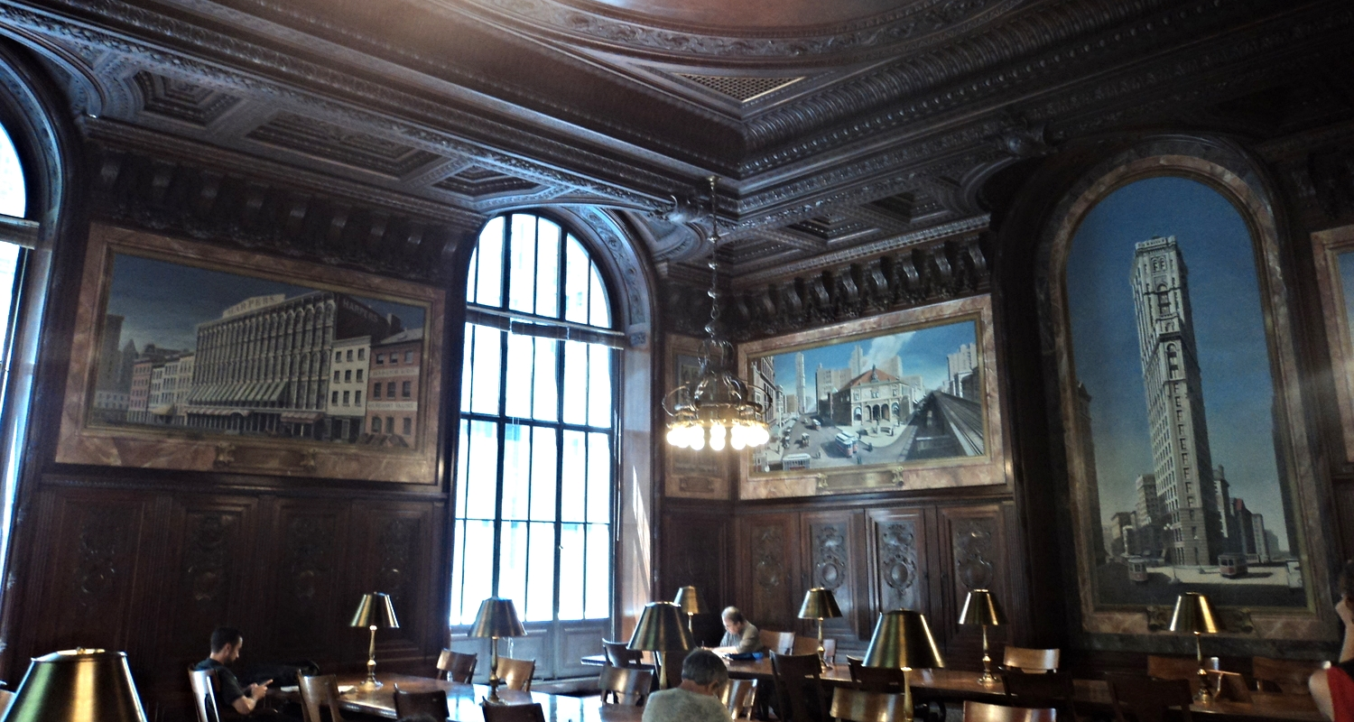 New York Public Library, Stephen A. Schwarzman Building, 42nd Street, New York, NY. Photo copyright of the author.