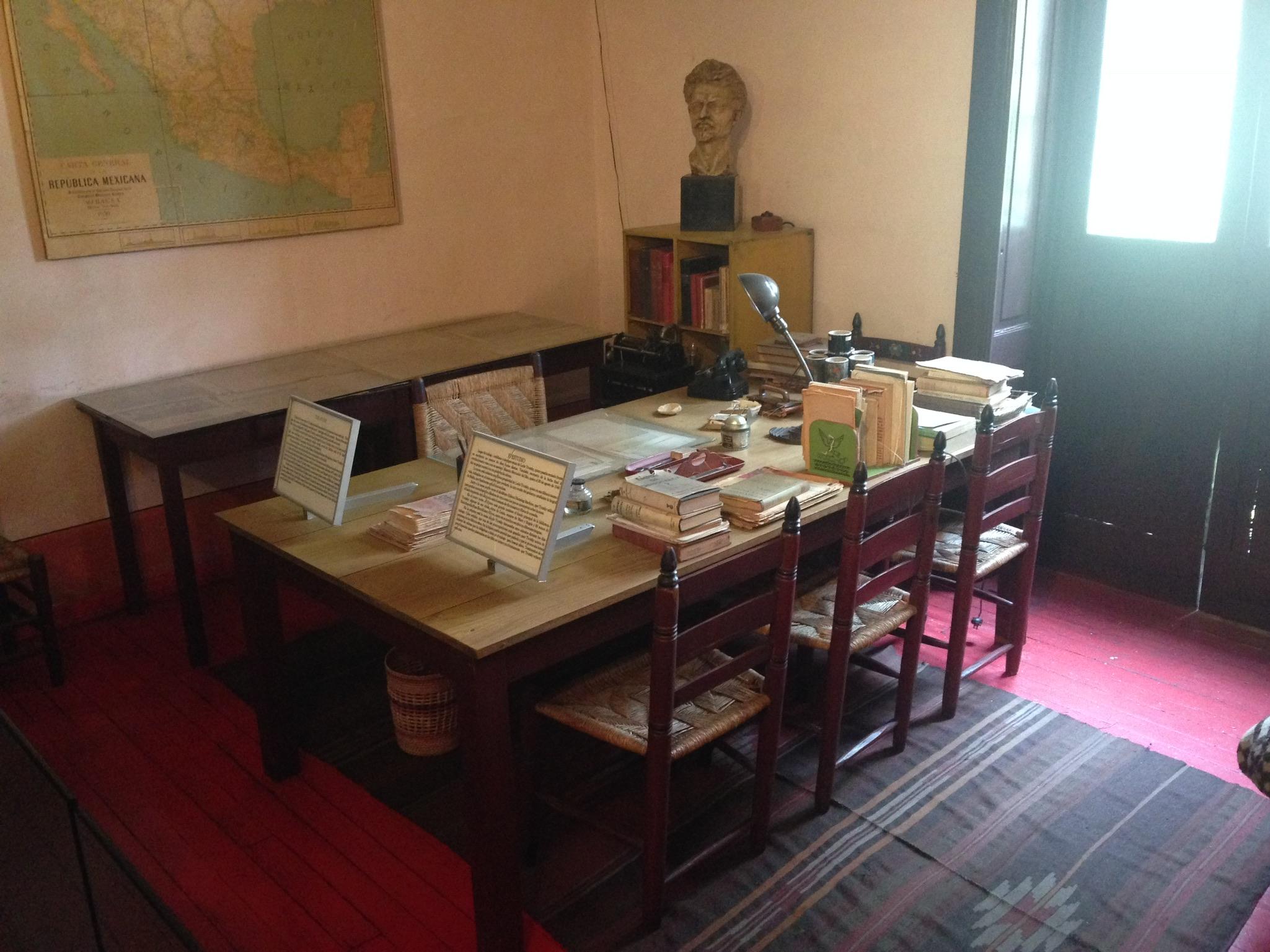 Leon Trotsky's Study, Museo Casa de Leon Trotsky