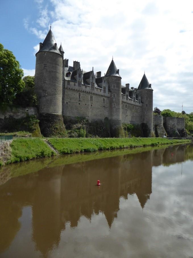 The castle at Josselin