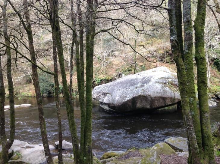 Winter walk at les Roches du Diable