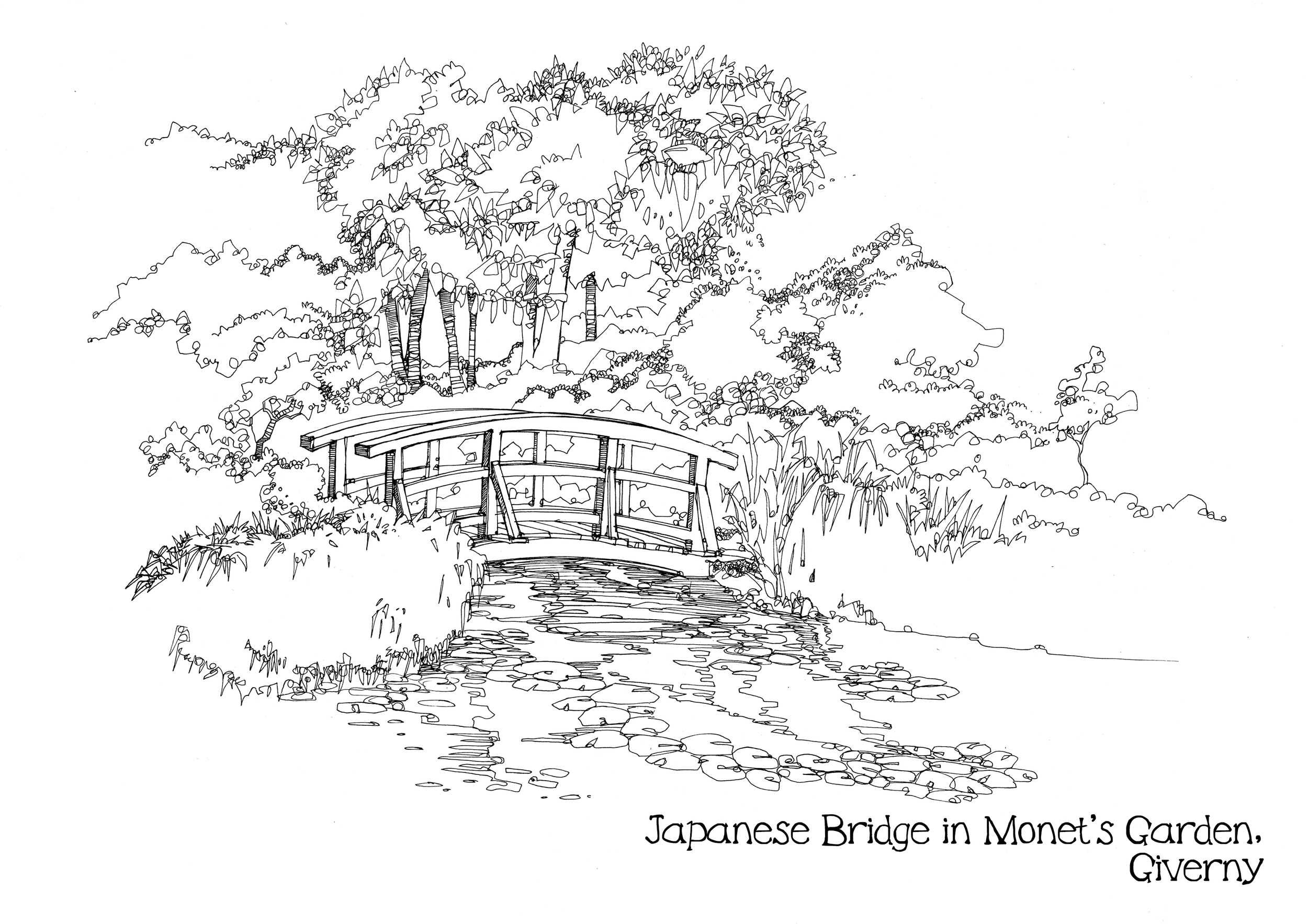 Japanese Bridge in Monet's Garden,.jpg