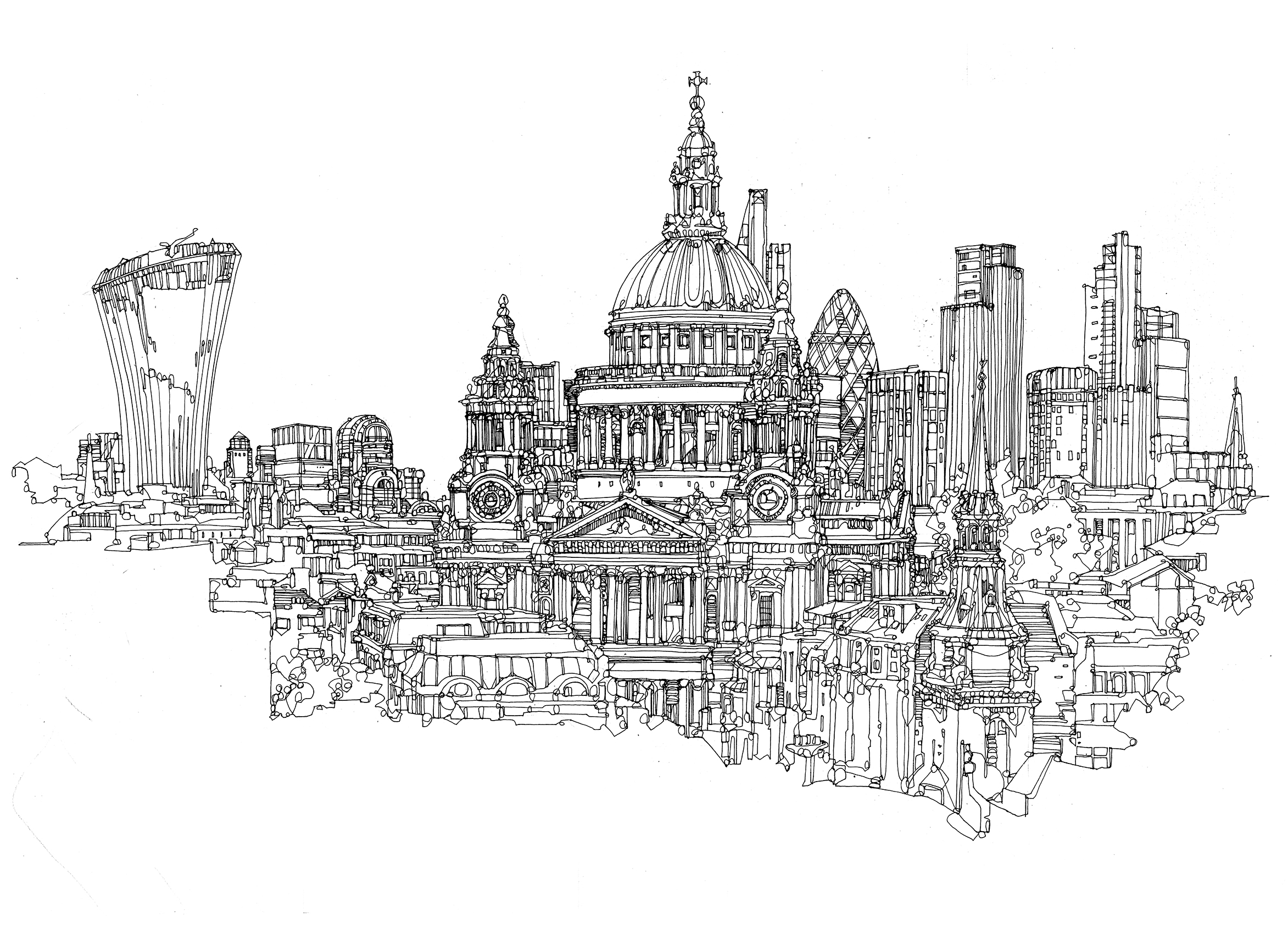 st paul architectural illustration drawing illustrated maps.jpg