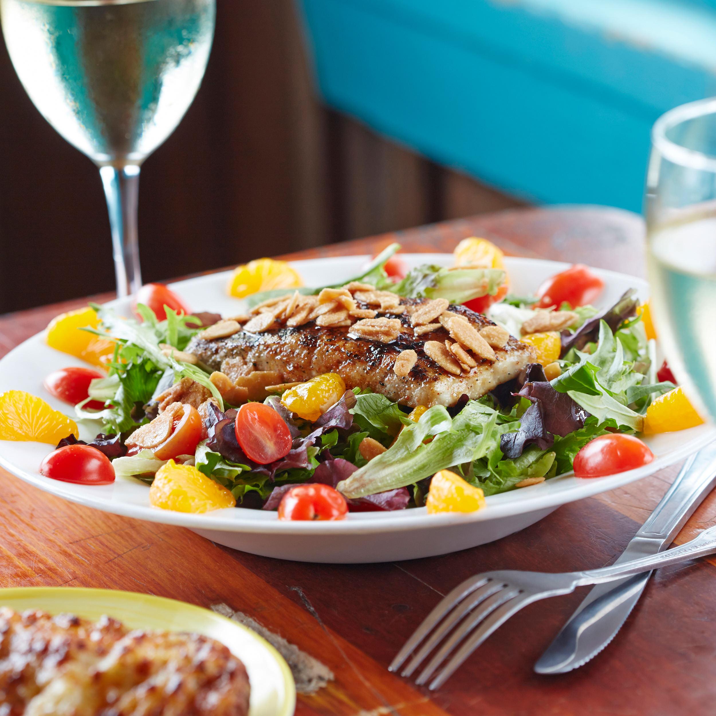 Honey Chipotle Salad w/Chargrilled Amberjack