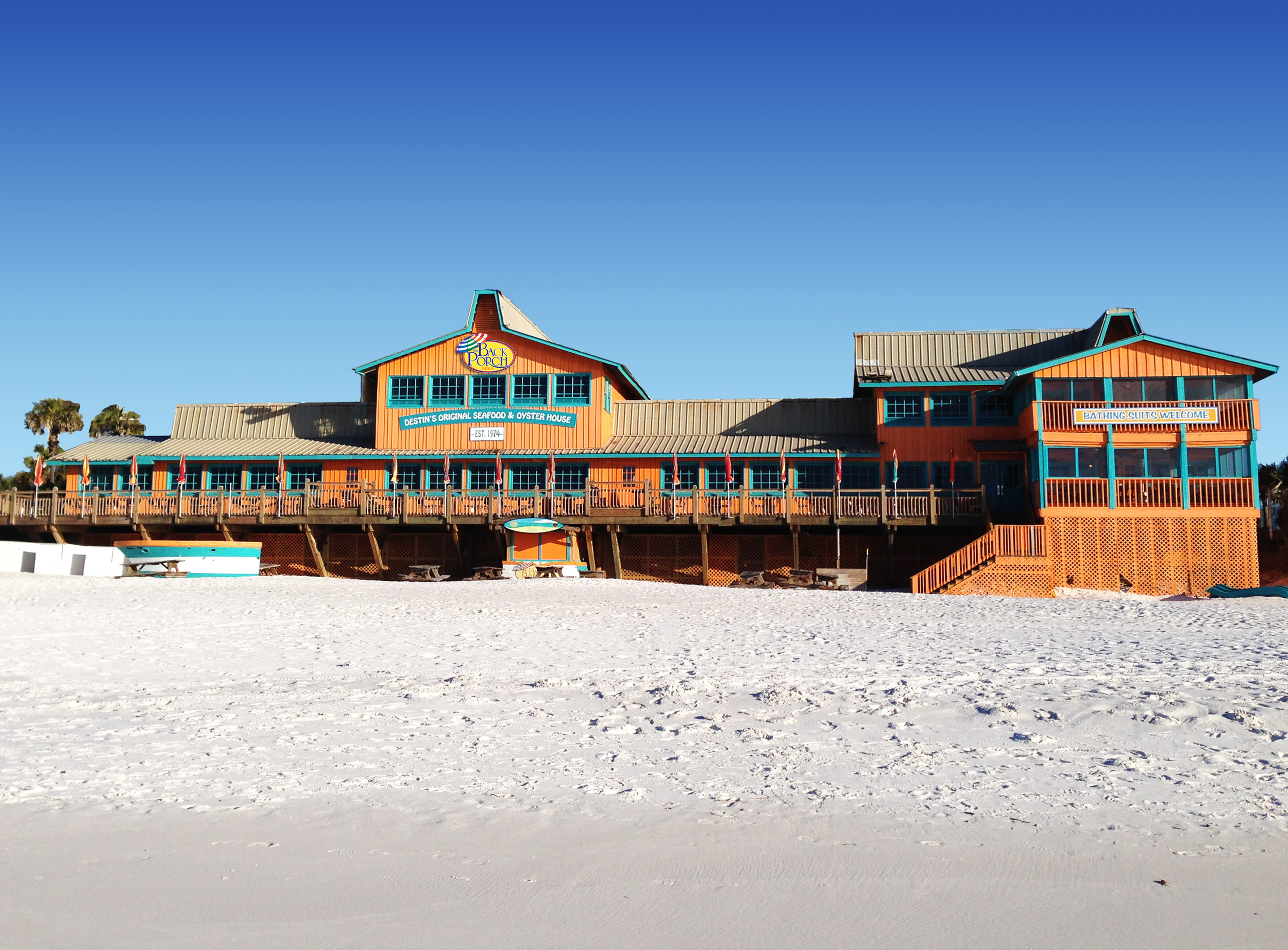 Directly on the Beach in Destin