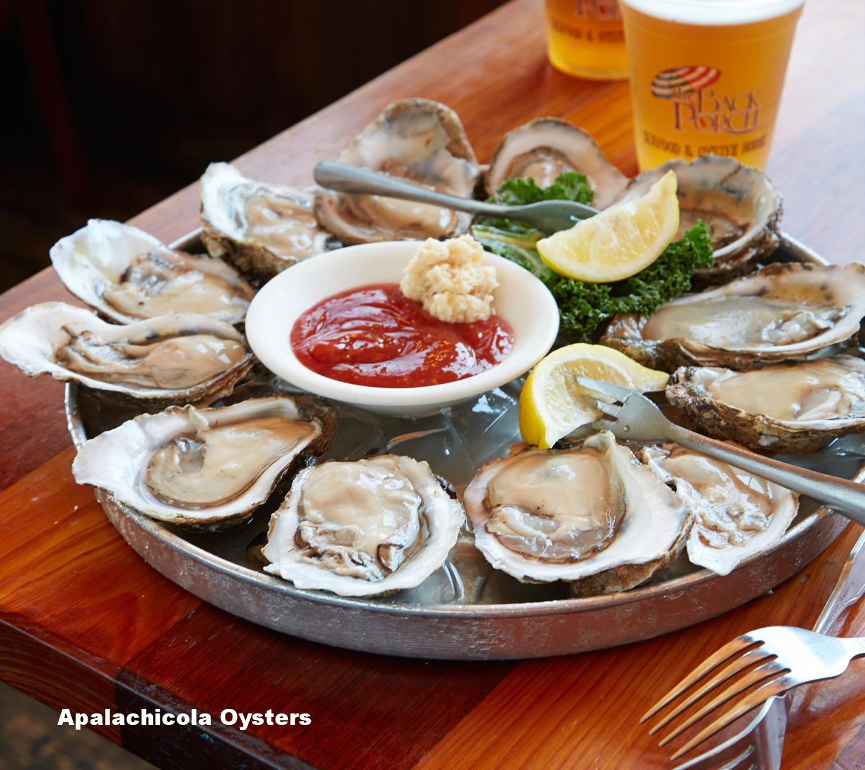 Fresh Raw Oysters