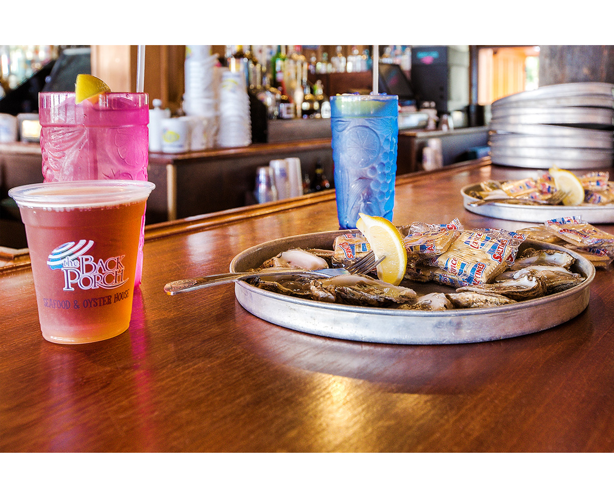 Raw Oysters & Cold Beer