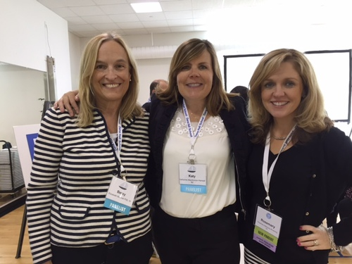 pictured (from left to right): Betsy Munnell, Katy Hansell, & Rosemary Mahoney-Browning