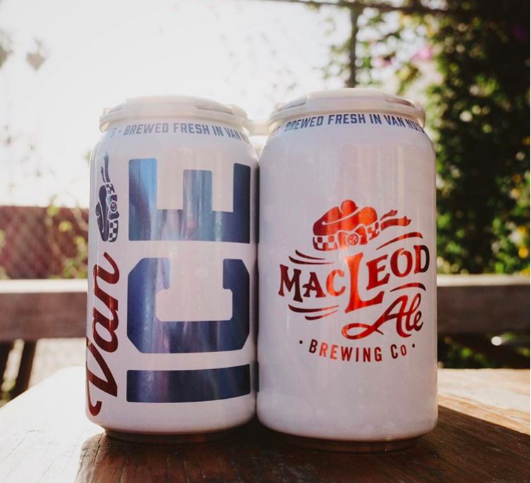 Van ICE - American Light Lager 4.1%Our flagship, super crushable, world-class lager!Gold: San Diego Int'l Beer Festival 2018and 2nd Best in ShowGold: California State Fair 2018and 2nd Best in ShowSilver: World Beer Cup 2018Silver: LA Int's Beer Festival 2018