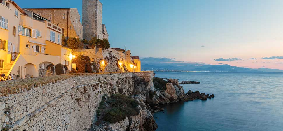 Les ramparts of Vieil Antibes