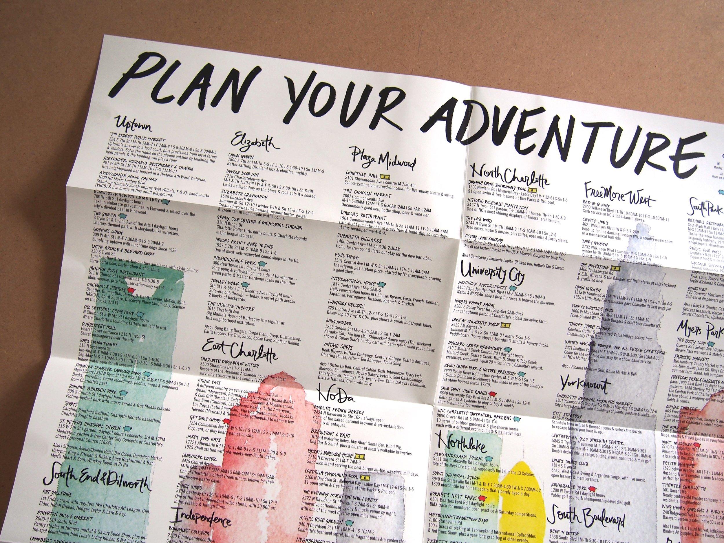 Charlotte Adventure Map >> ediamaps.com