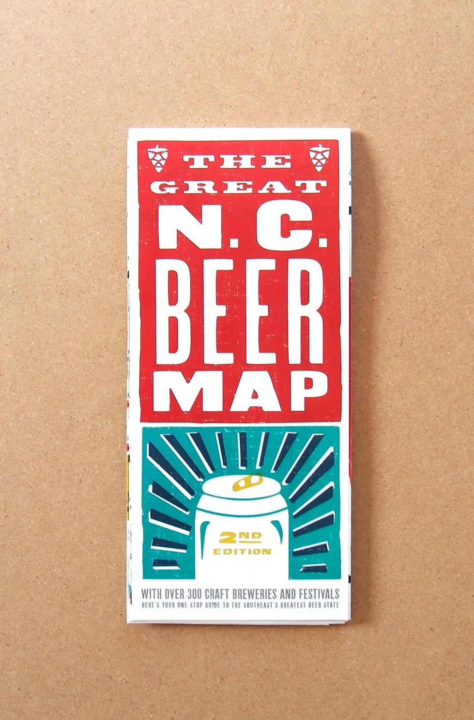 Great NC Beer Map // EDIA Maps