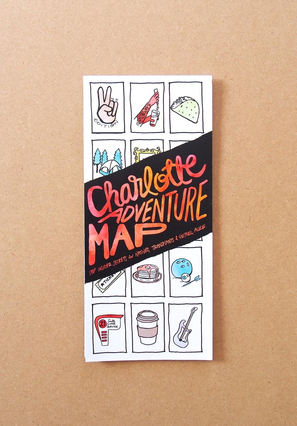 Charlotte Adventure Map // EDIA Maps