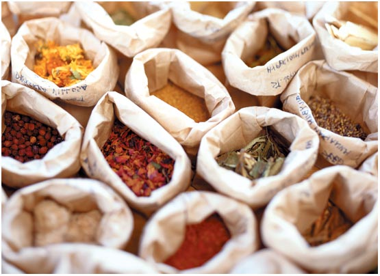 Herbal compounding: The East's pharmaceutical drugs, even today.