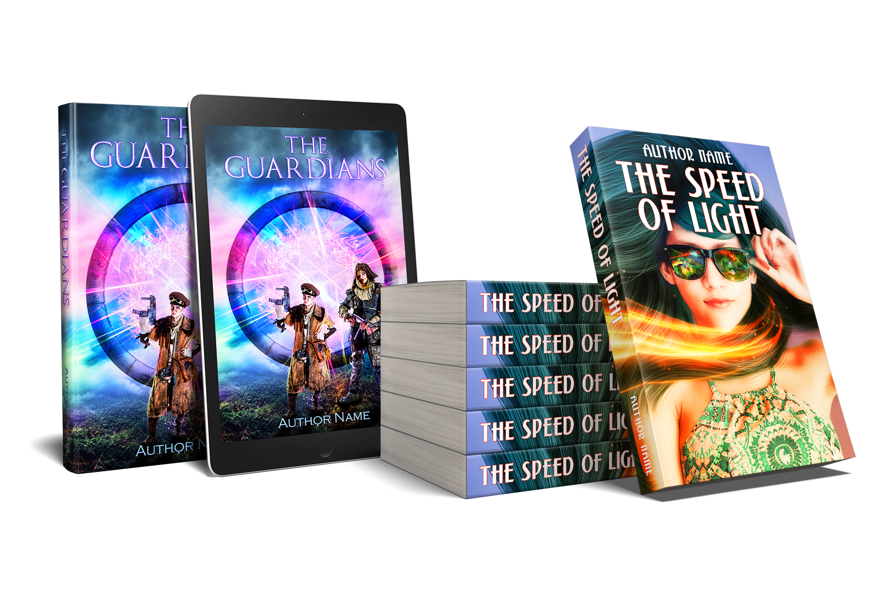 Indie Book Cover Design - Because, books are judged by their covers…