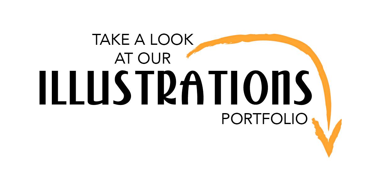 Custom Illustrations | Design by Lisa Kerner | Graphic Design | Flat Vector