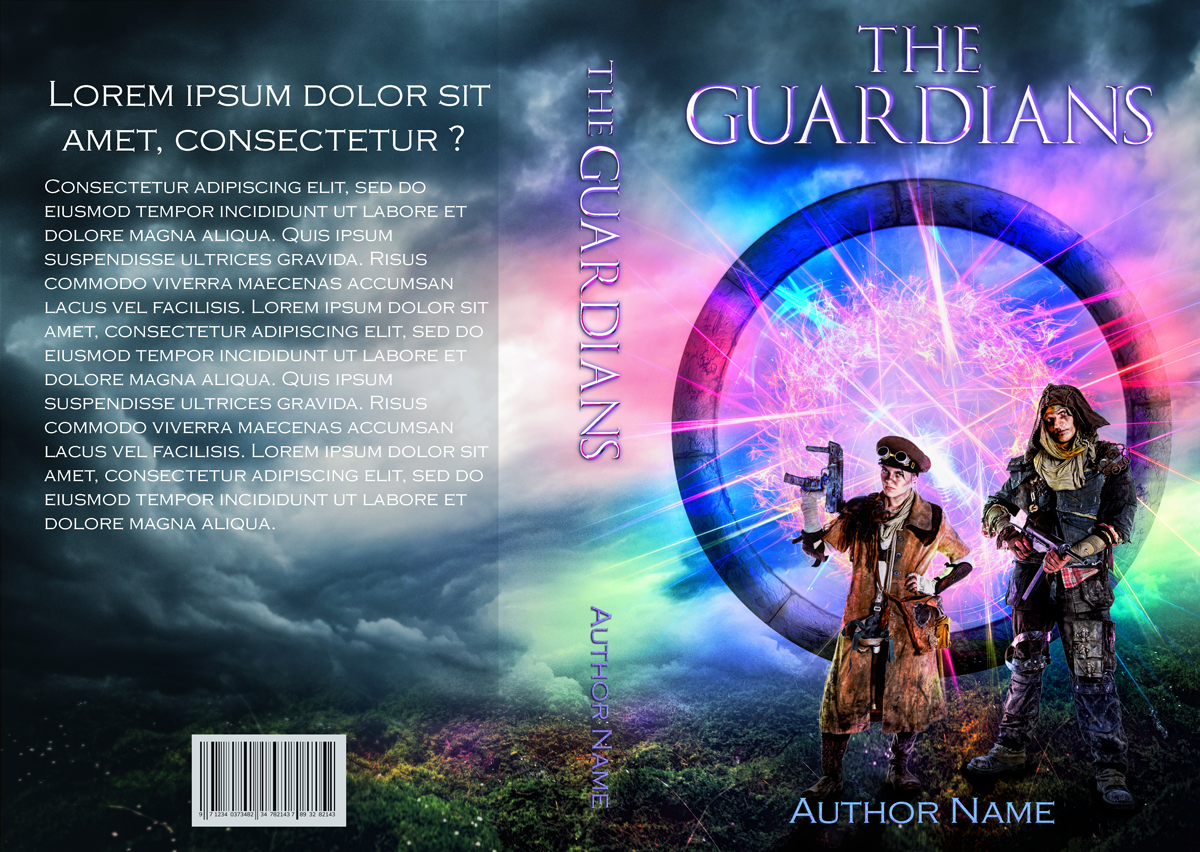 The Guardians | Designs by Lisa Kerner | Custom Book Covers | Indie Publishers