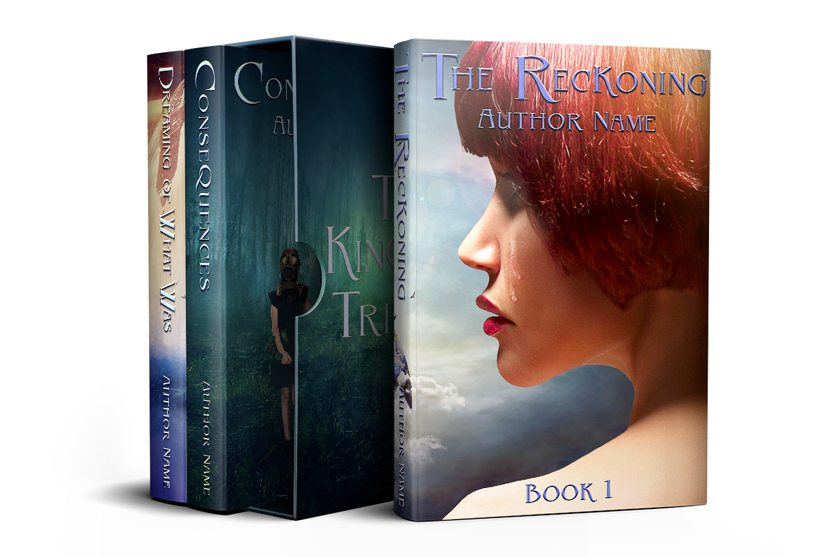 The Kingdom Trilogy | Designs by Lisa Kerner | Custom Book Covers | Indie Publishers