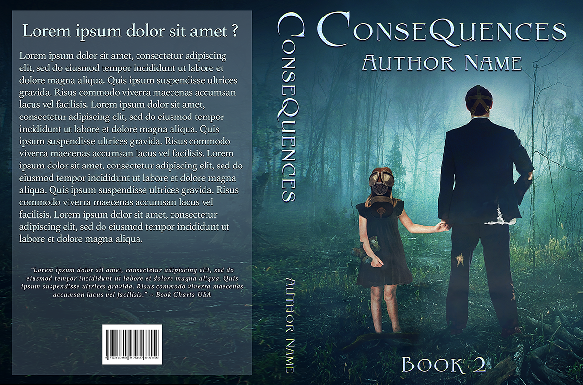 The Kingdom Trilogy Book Two| Consequences | | Designs by Lisa Kerner | Custom Book Covers | Indie Publishers