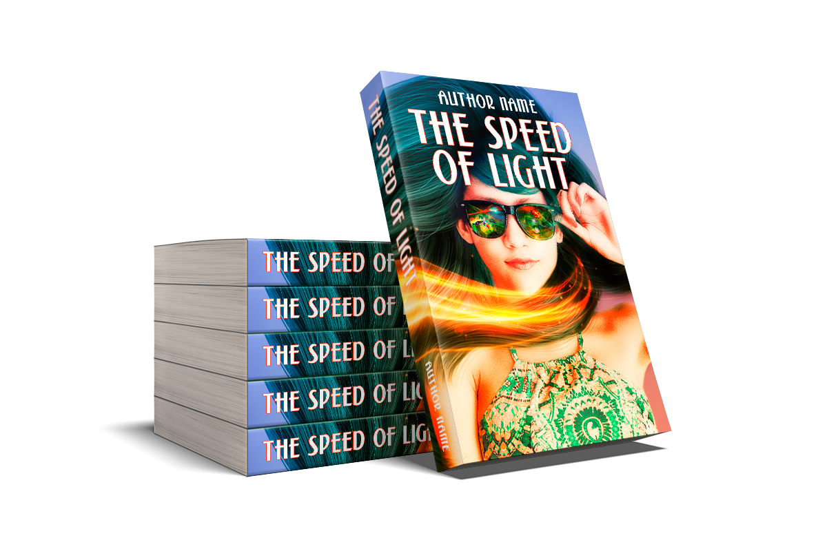 The Speed of Light | Designs by Lisa Kerner | Custom Book Covers | Indie Publishers