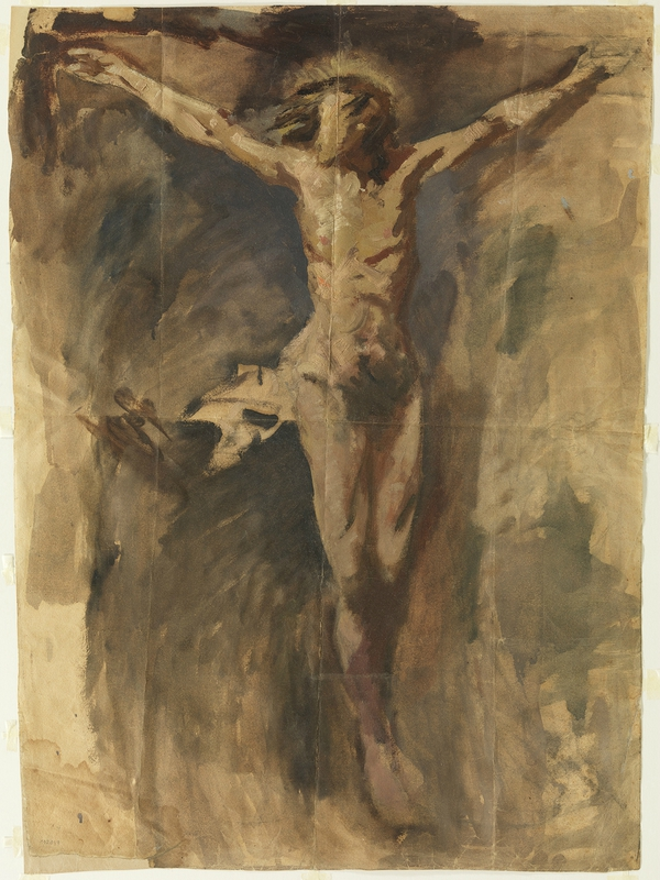 Picasso, another grandfather abstractor, about the cross