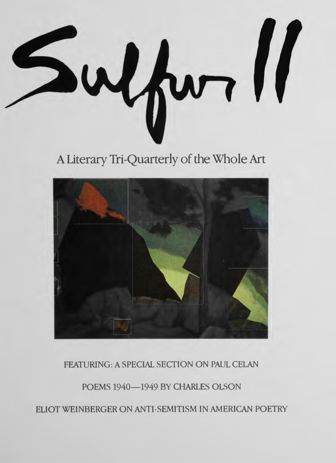 Sulfur 11-20