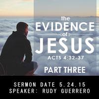 Evidence of Jesus pt.3