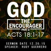 God the Encourager
