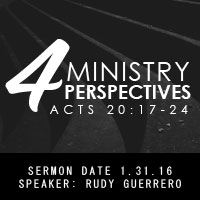 4 ministry perspectives