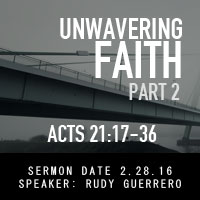 Unwavering Faith pt.2