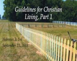 Guidelines for Christian Living, Picket fence.jpg
