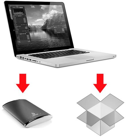 Emergency backup for field laptop.