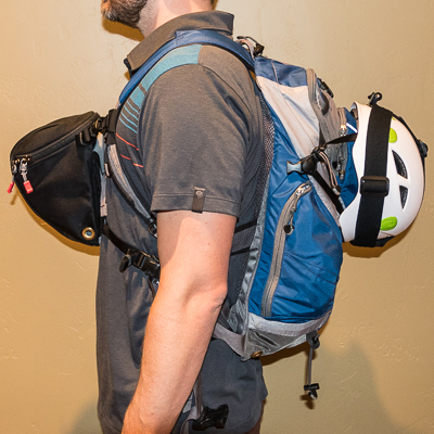 Clik Elite Chest Carrier with REI Daypack
