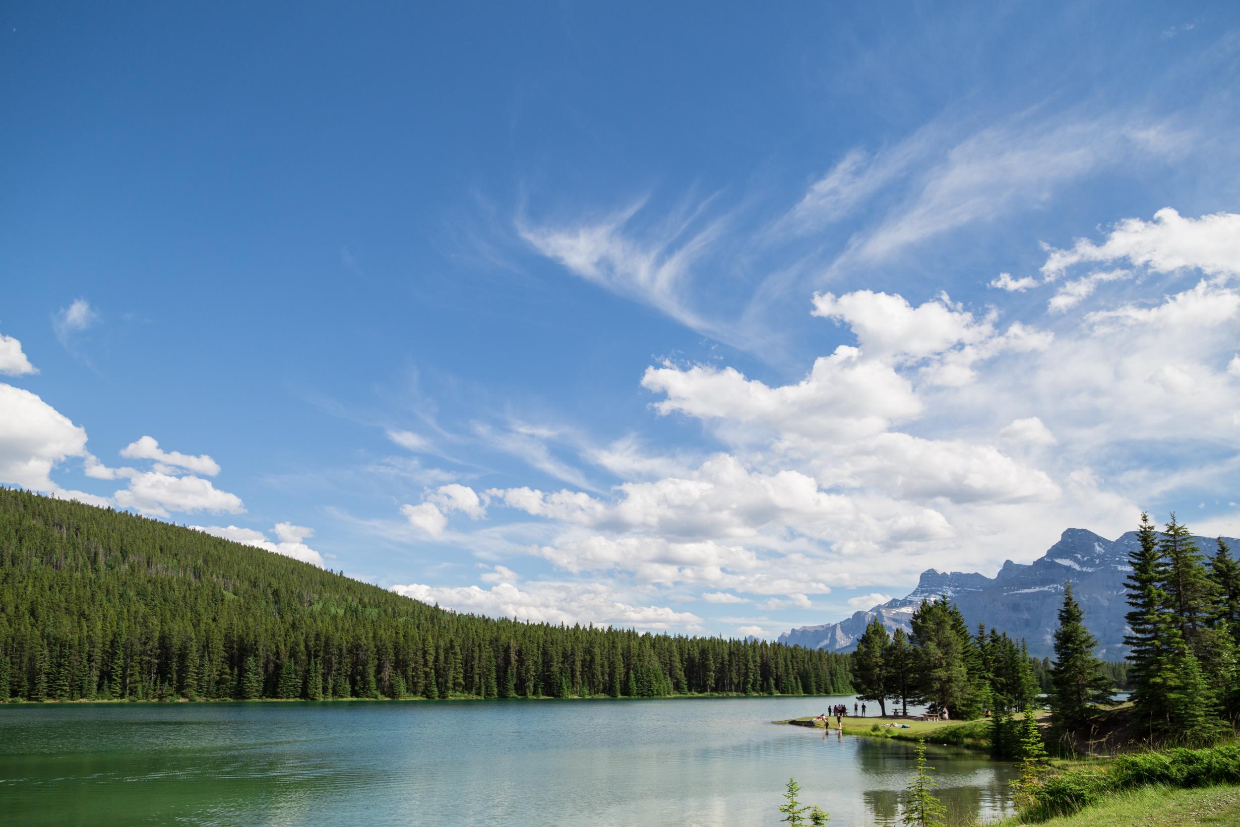 Two Jack Lake.