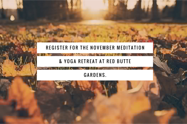 red butte meditation retreat