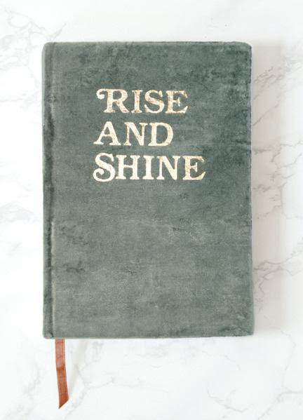 rise and shine journal
