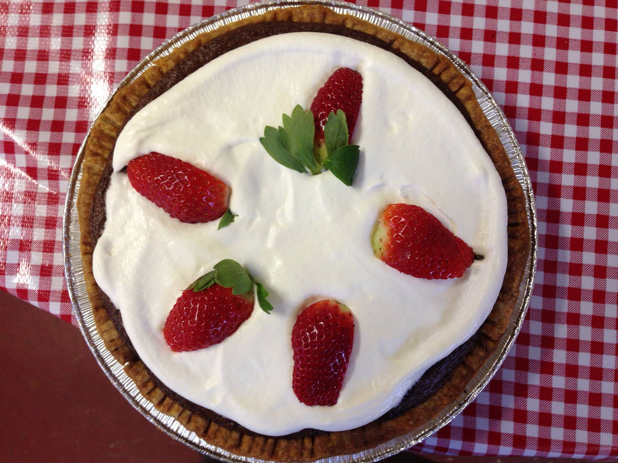 Featuring pie from  Woodruff's Cafe and Pie Shop inMonroe, Va.