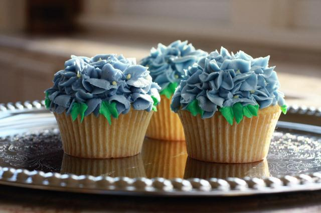 Featuring c  upcakes from the  Cupcake Company in PennLaird, Va.