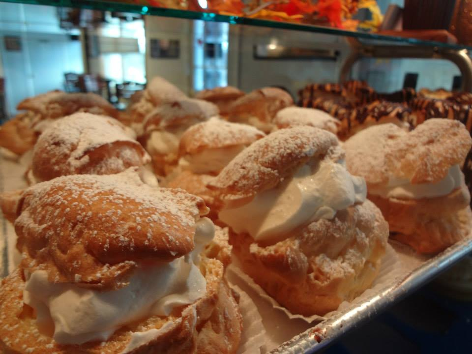 Featuring custom cream puffs and brownies from the Cupcake Company in Penn Laird, Va.,
