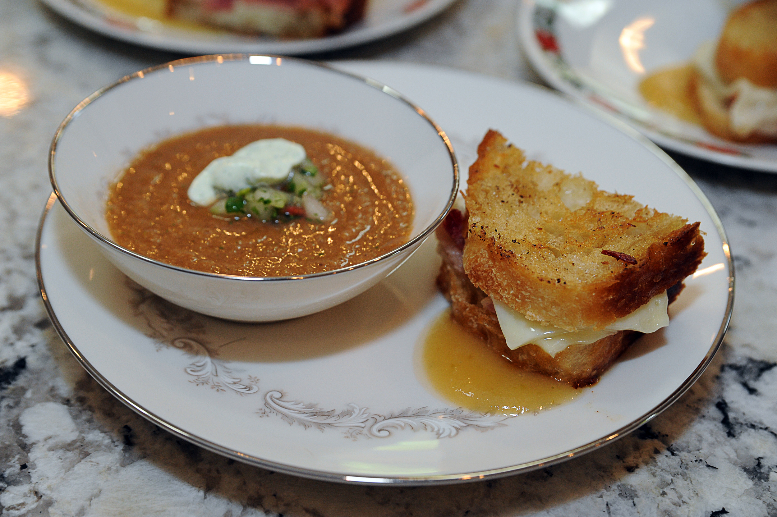 Grilled cheese like you've never had before!  Photo credit: Paul Purpura
