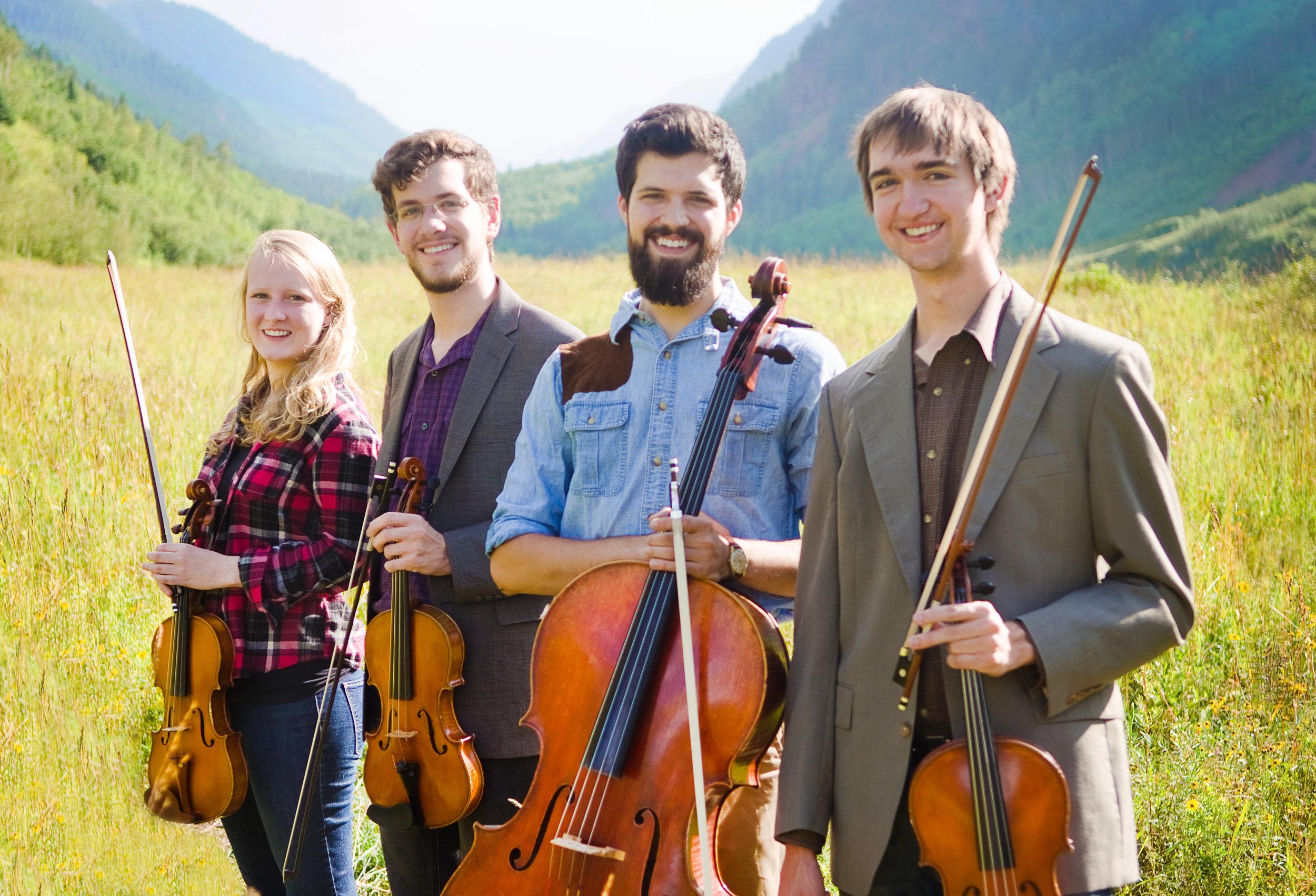 The 2016 Fellowship String Quartet: The Aurelius Quartet