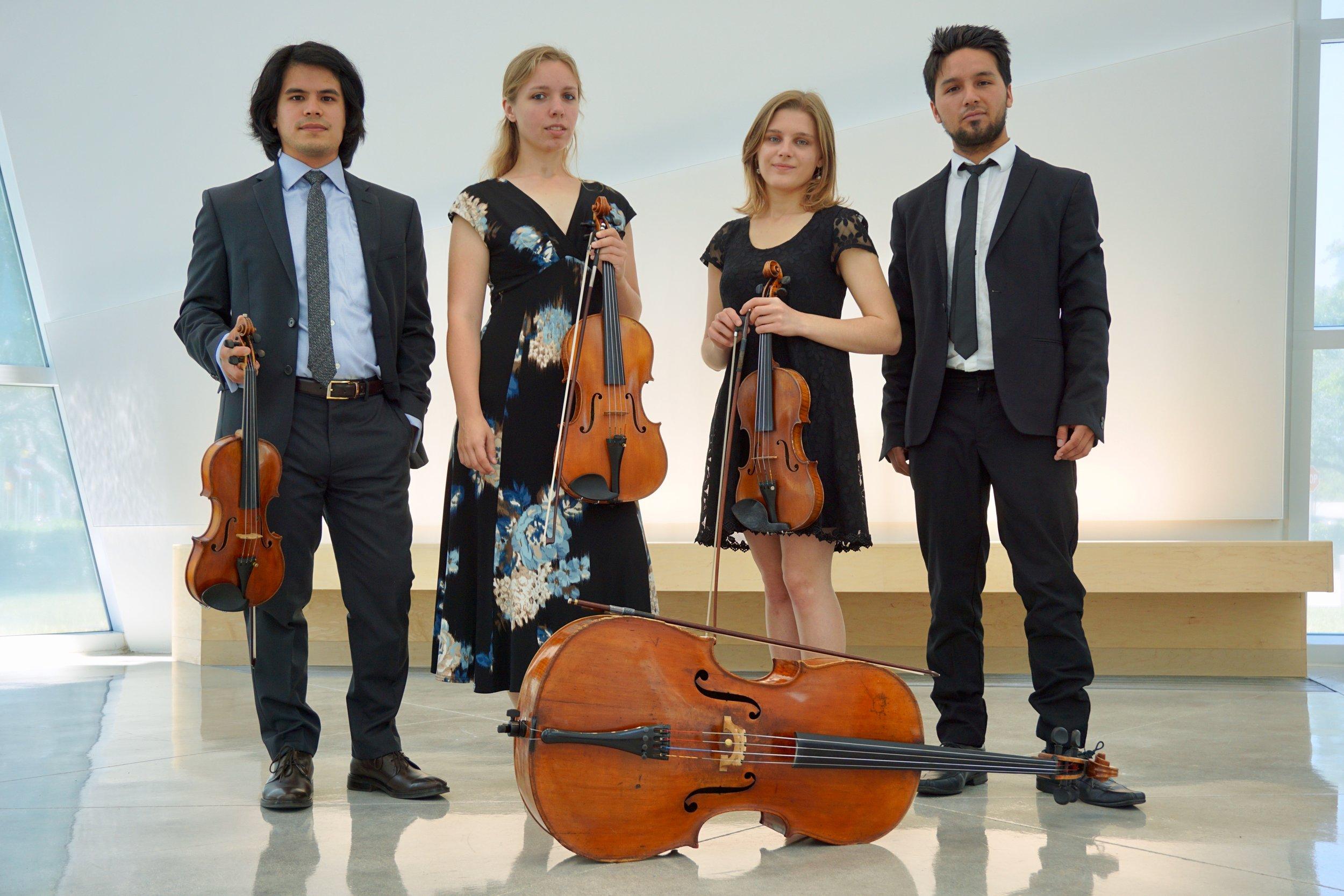 2017's Fellowship String Quartet - The Seacrest Quartet