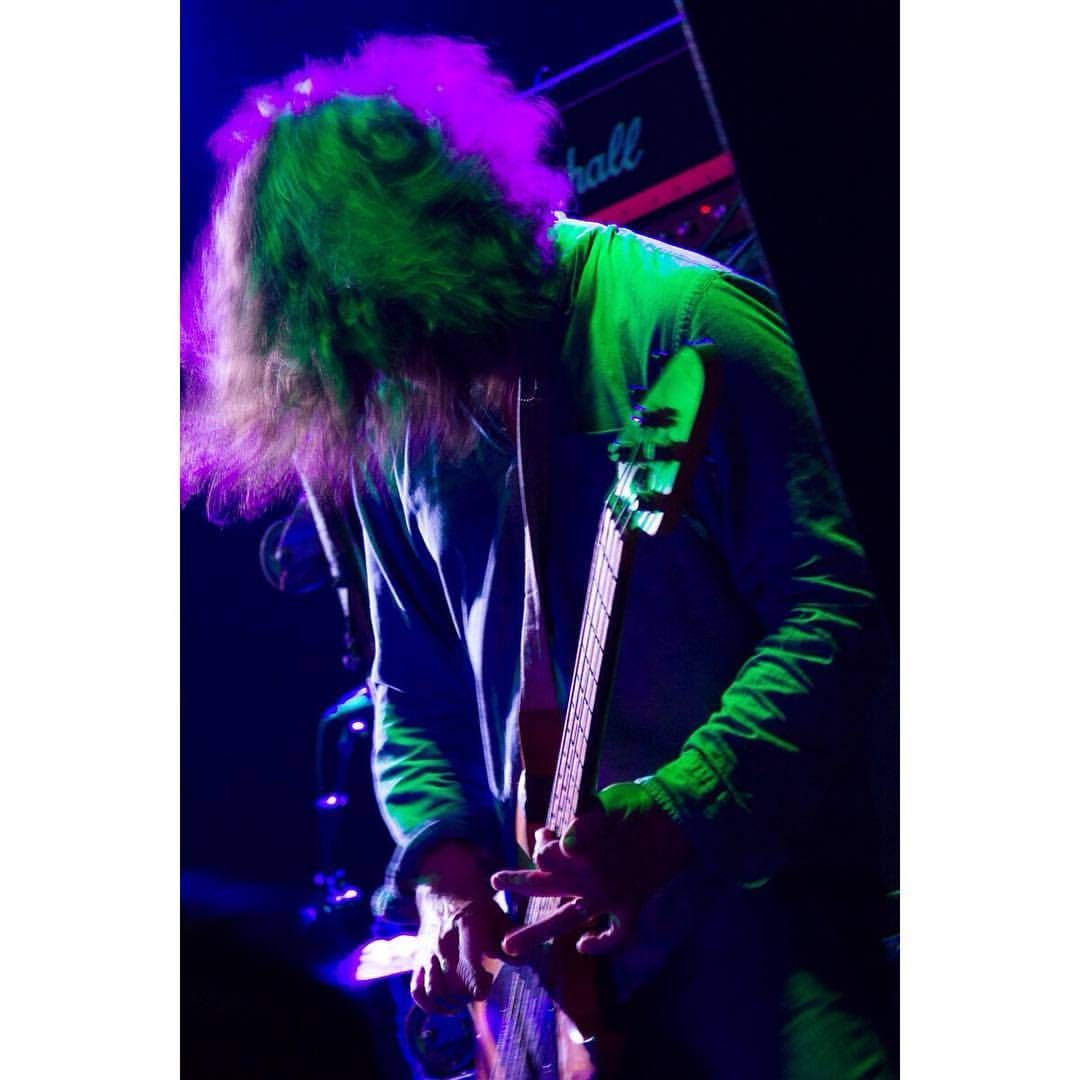 #sonikdrama w/ @loubarlow of @dinosaurjr  (at The Teragram Ballroom)