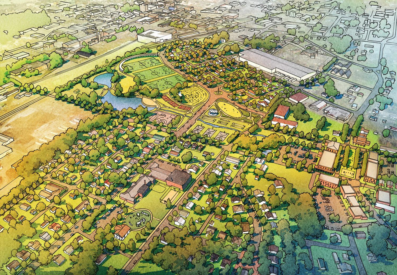 Blythe Oldfield Master Plan , Cleveland, Tenn