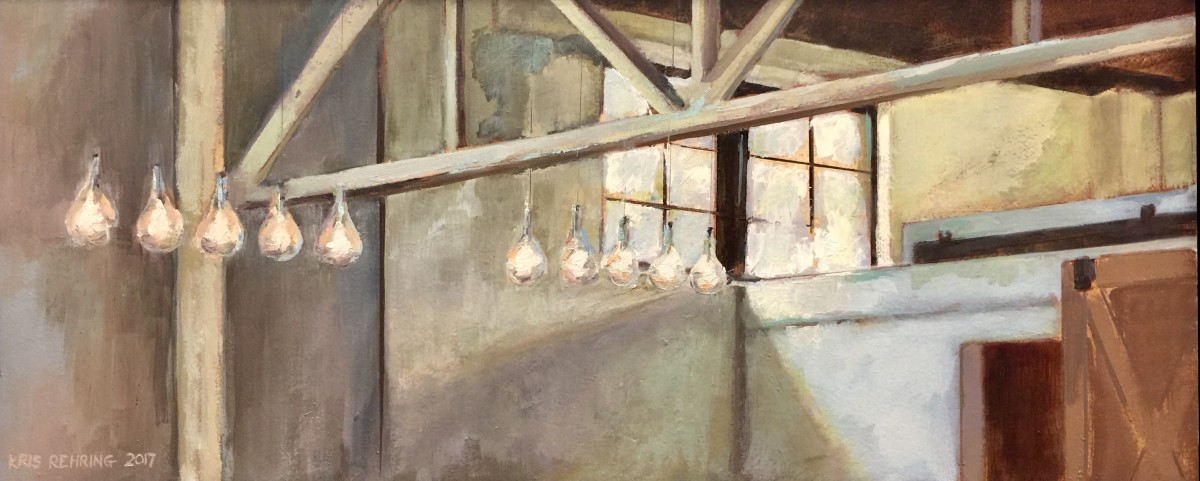 Hanging Bulbs and Rafters