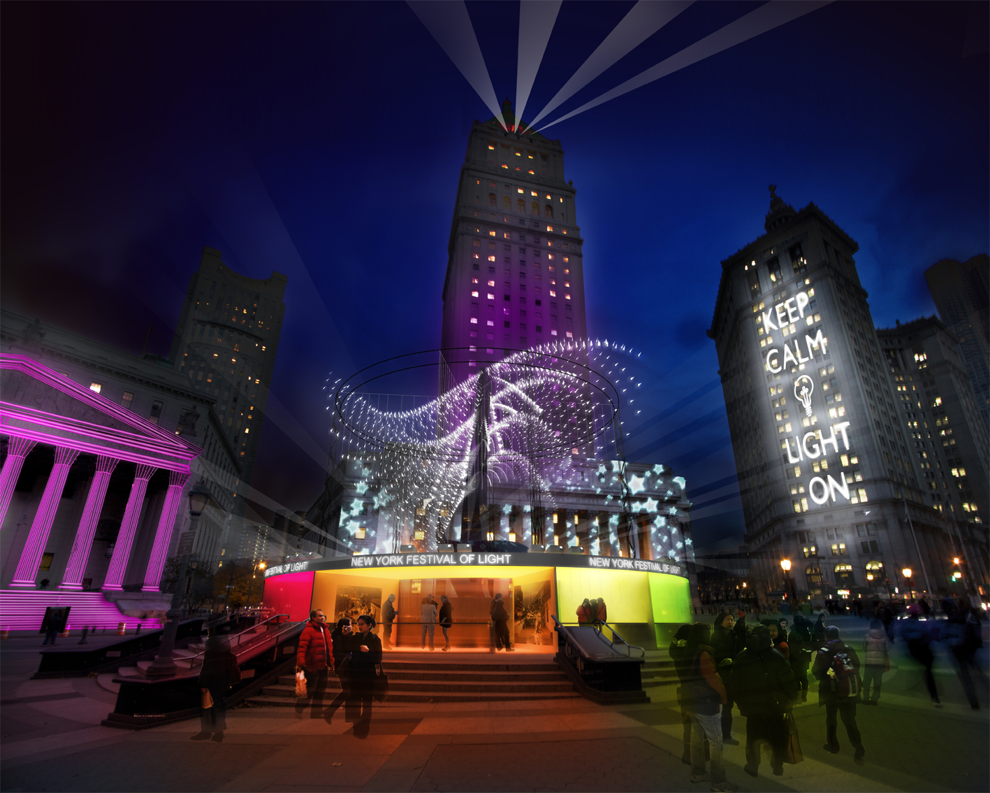The New York Festival of Light 2014