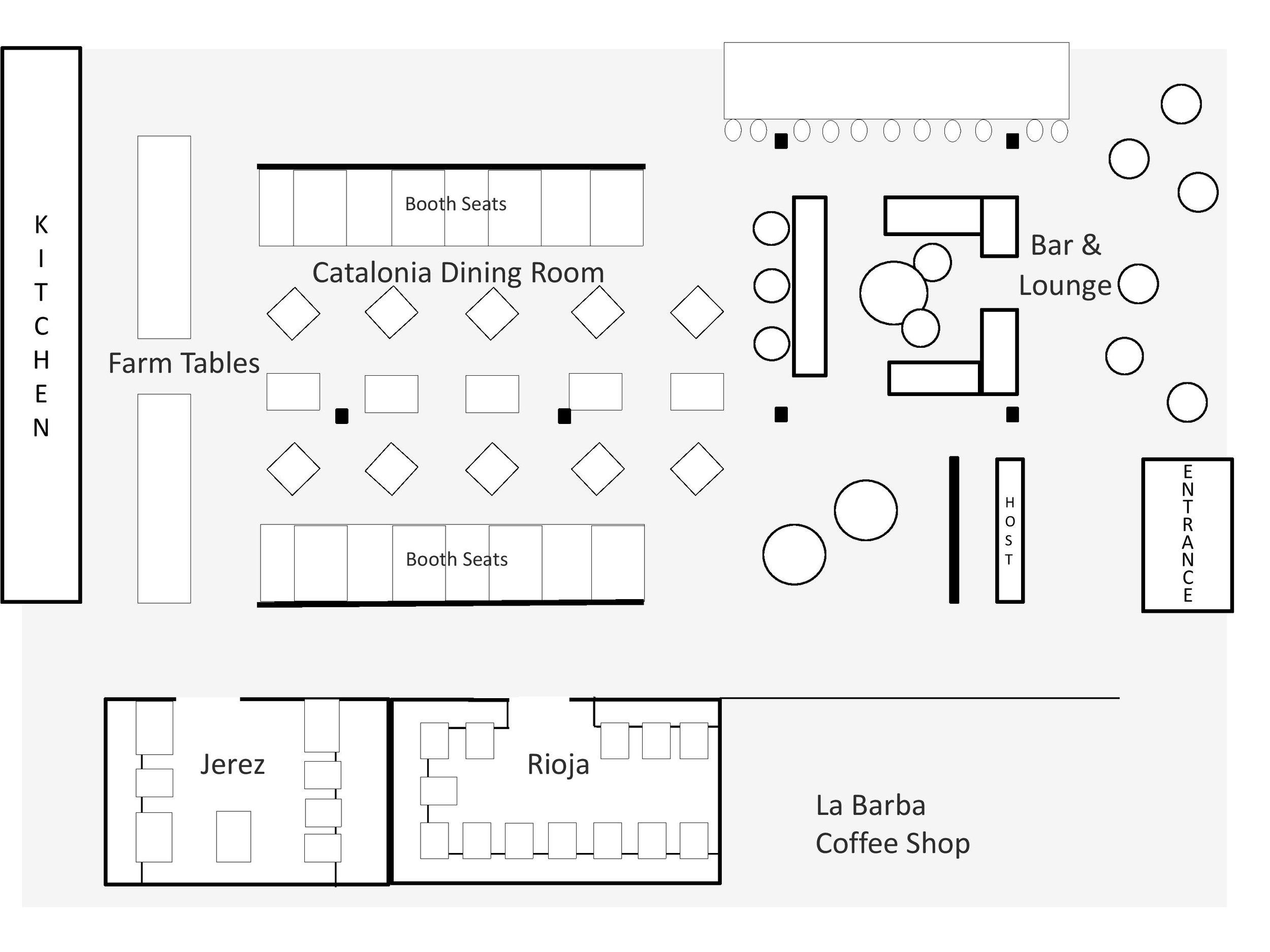 FINCA Floor Plan