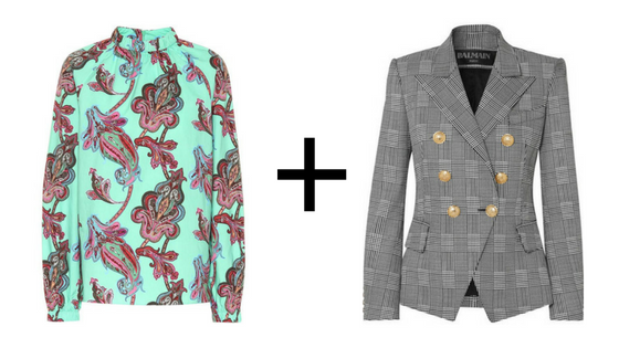 here's the shirt    &    here's the blazer