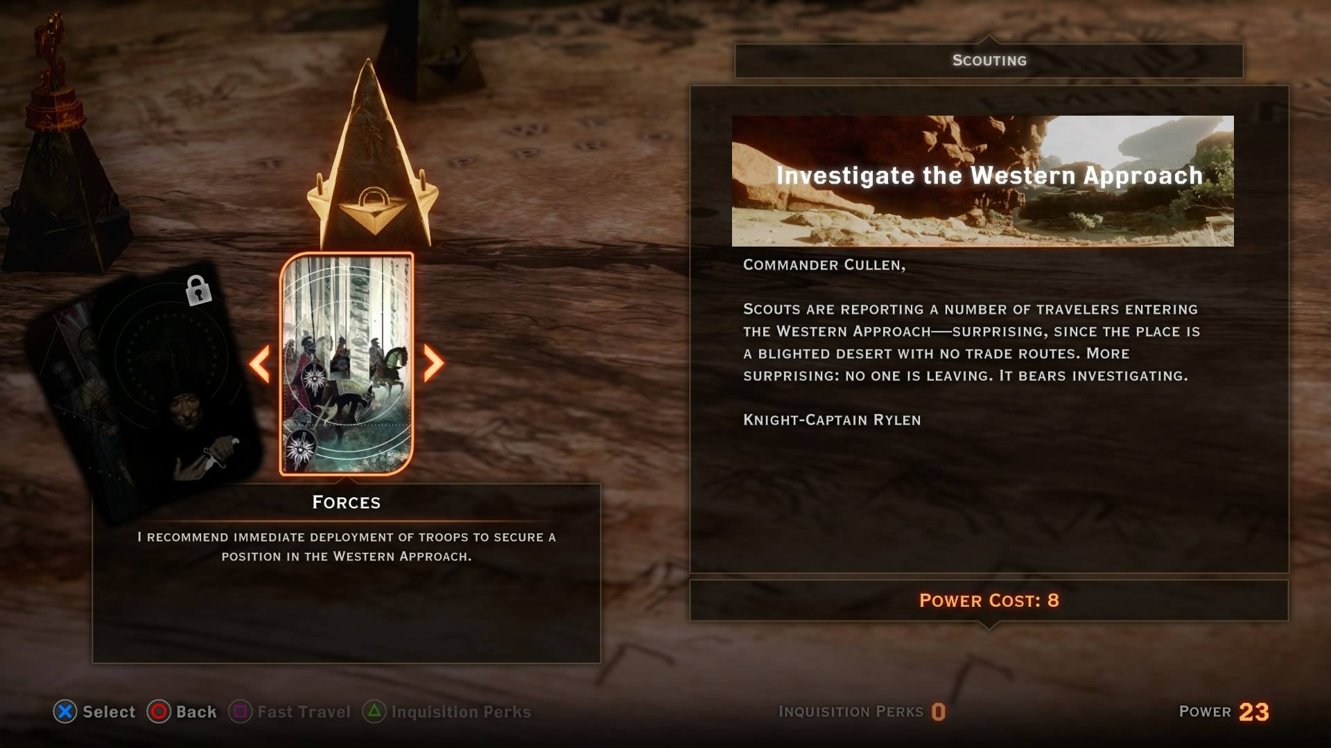 Dragon Age Inquisition: War Table